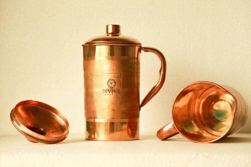 Copper Plain Jug