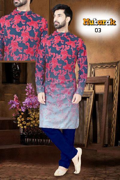 Digital Printed Kurta Fabric
