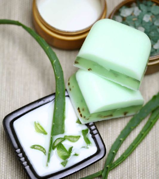 Aloe Vera and Glycerin Soap