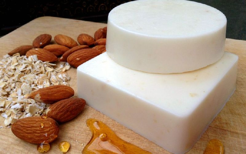 Oatmeal and Almond Soap