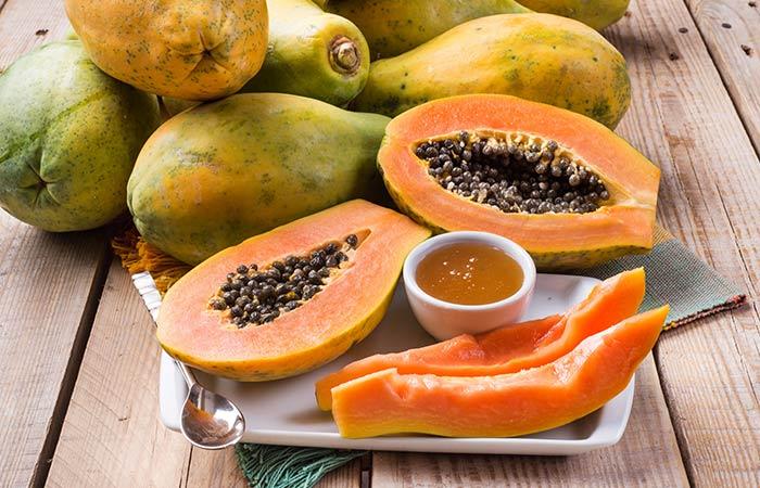 Papaya and Vitamin E Face Pack