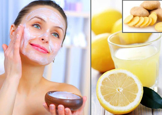 Vitamin C and Lemon Face Pack