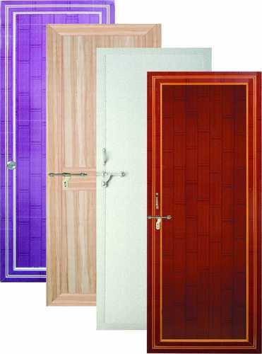Coloured PVC Door