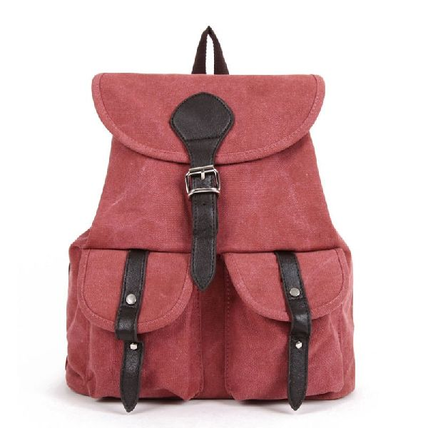 Eco Canvas Backpack