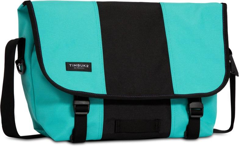 Two Tone Messenger Bag