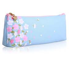 Floral Printed Cosmetic Bag