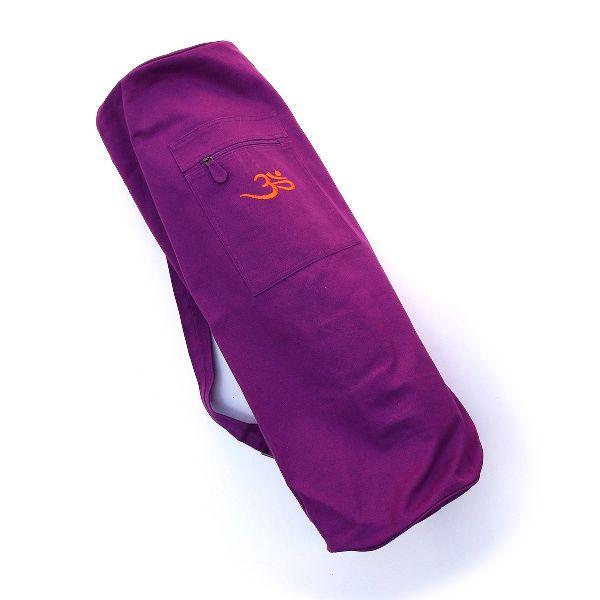 Embroidered Yoga Mat Bag