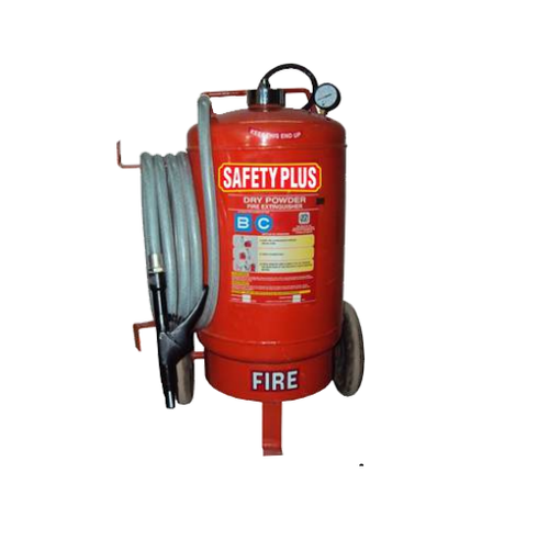 Trolley Mounted BC Fire Extinguisher