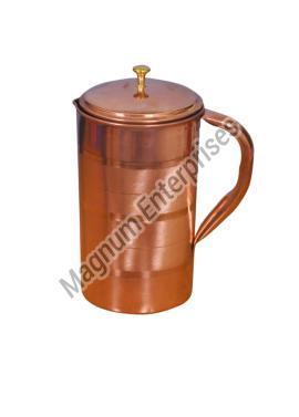 Silver Touch Copper Jug