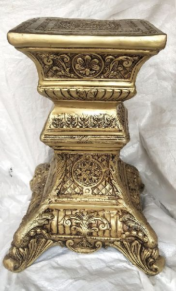 Brass Decorative Stool