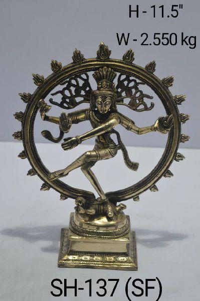 Brass Natraj Statute