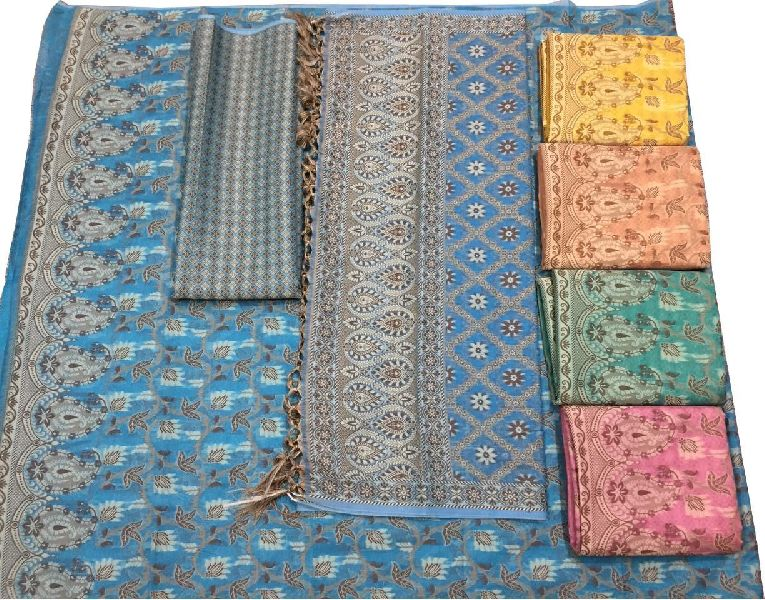 Banarasi Cotton Suit Material