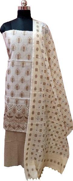 Cotton Dupion Suit Material