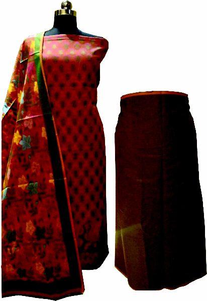 Cotton Suit Material With Tilfi Dupatta