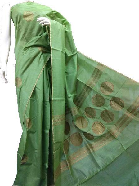 Handloom Moonga Silk Saree