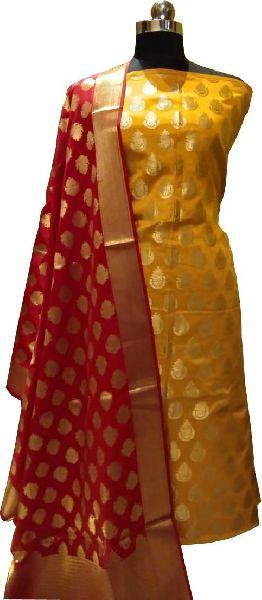 Pure Banarasi Suit Material