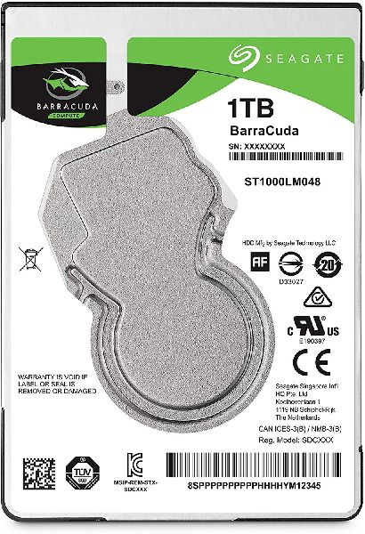 Seagate 1TB Laptop HDD Internal Notebook Hard Disk Drive