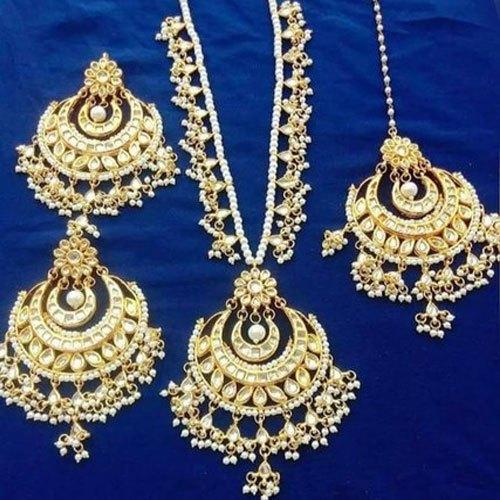 Artificial Bridal Necklace Set