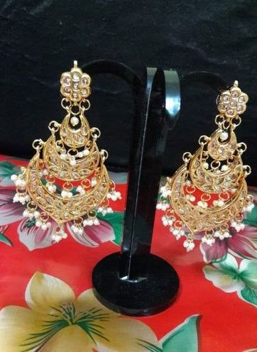 Fashion Kundan Earrings