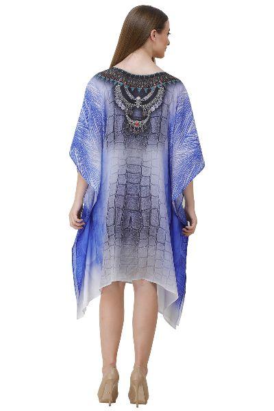 Crystals Embellishment Designer Kaftan