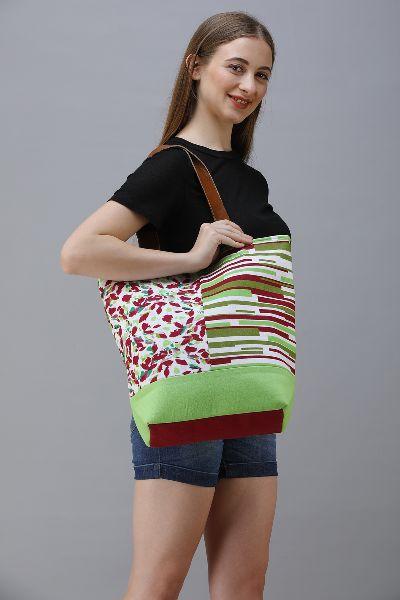 Cotton Canvas  Designer Shopper Bag