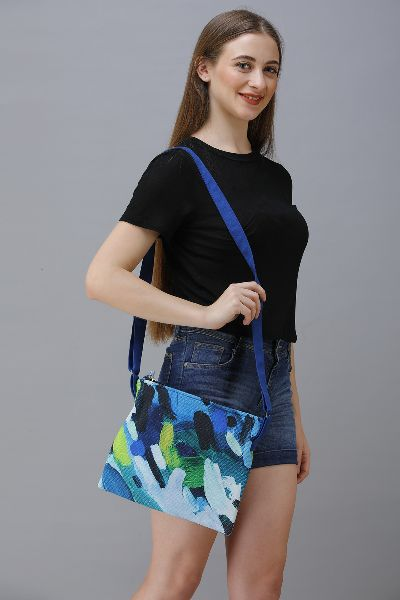 Cotton Canvas Sling Bag