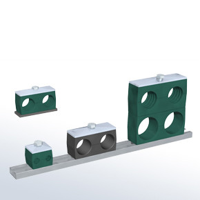 Heavy Series Stauff Pipe Clamps