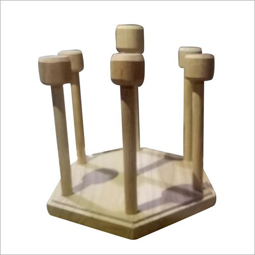 Wooden Glass Stand