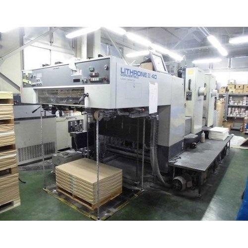 Komori Lithrone 2 Color Offset Printing Machine