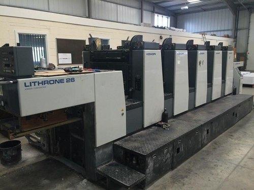 Komori Lithrone L 526 EM Offset Printing Machine