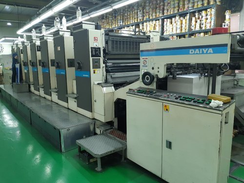 Mitsubishi 3G 6 Color Offset Printing Machine