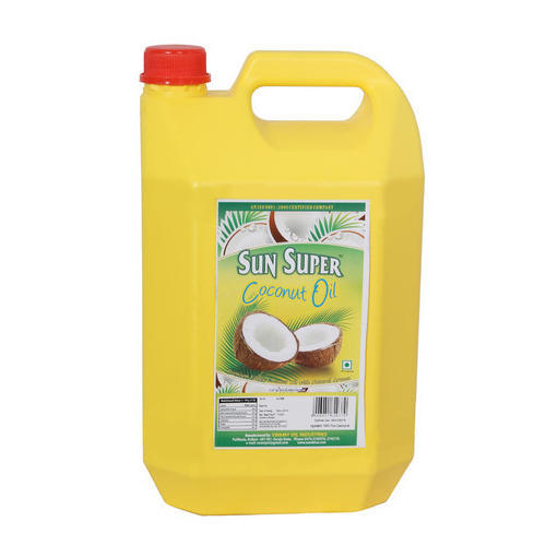 Sun Super 5 Litre Coconut Oil HDPE Bottle