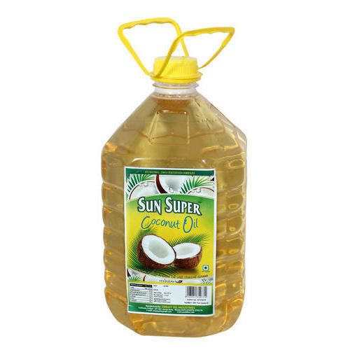 Sun Super 5 Litre Coconut Oil Pet Bottle