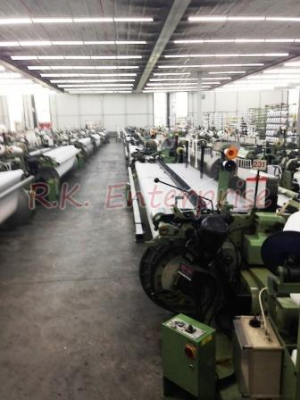 "PU 153"" Used Sulzer Projectile Looms"