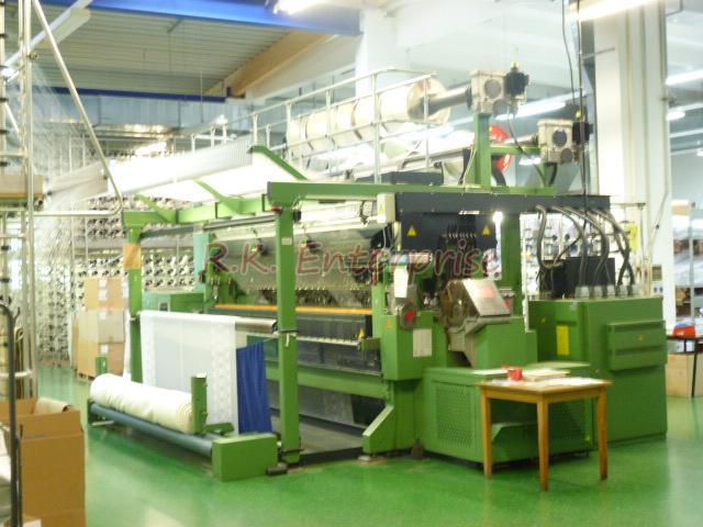 Used Karl Mayer Raschel Knitting Machine