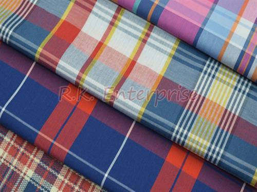 Yarn Dyed 100% Cotton Fabric