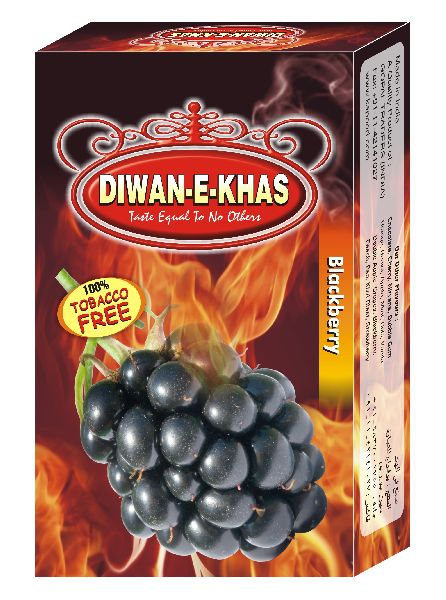 Diwan E Khas Blackberry Flavored Hookah