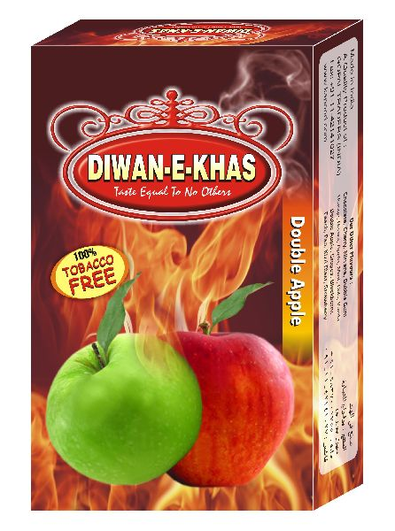 Diwan E Khas Double Apple Flavored Hookah