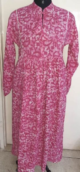 Wax Batik Dress