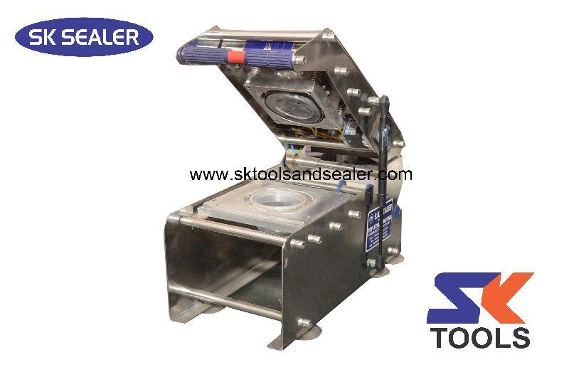 Round Paper Cup Sealing Machine