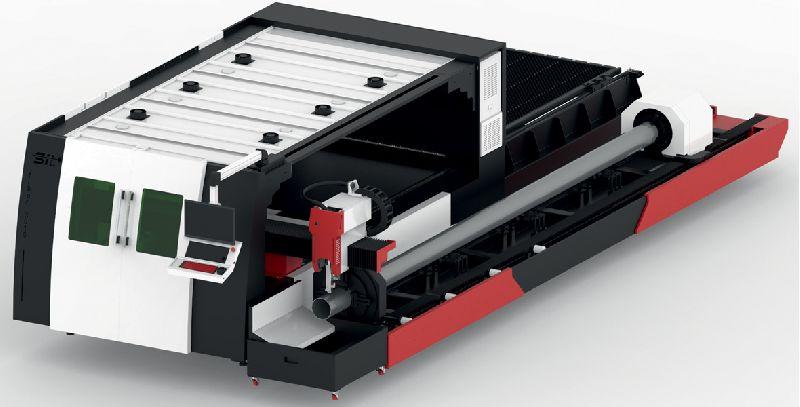 Metal Sheet and Pipe Fiber Laser Cutting Machine