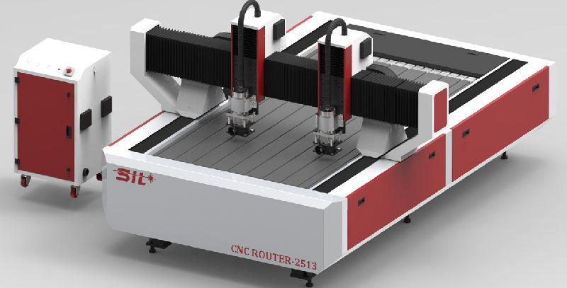 CNC Router With Rotary
