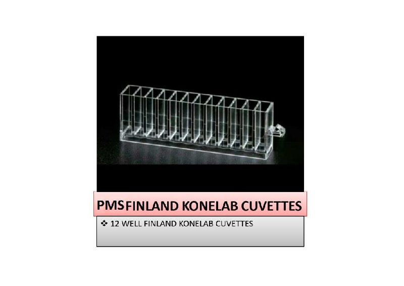 12 Position Finland Konelab Cuvette