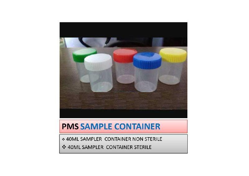 Plastic Sample Container