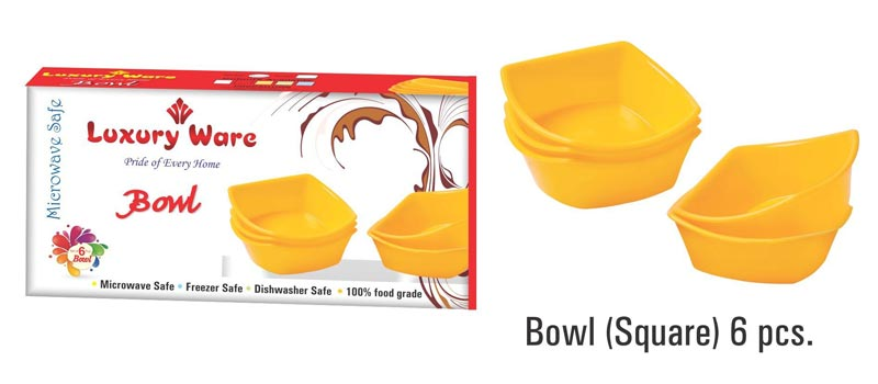Bowl (Square) 6 pcs