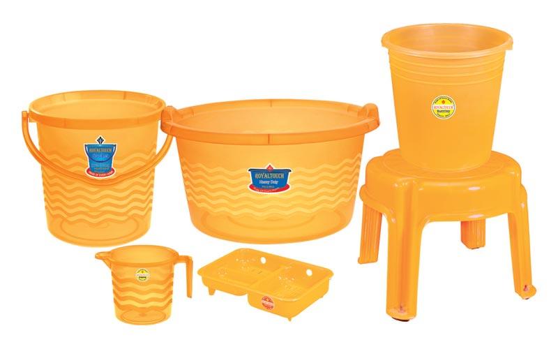 Plastic Fancy Bath Set