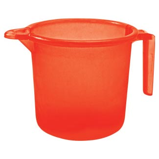 Rose 1800 Plastic Bath Mug