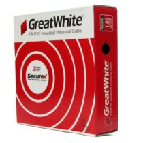 Great White 0.750 SQ MM Black Triple Layer PVC Insulated Wire