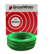 Great White 1.0 SQ MM Green Triple Layer PVC Insulated Wire
