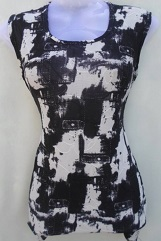 Black & White Stylish Look Top